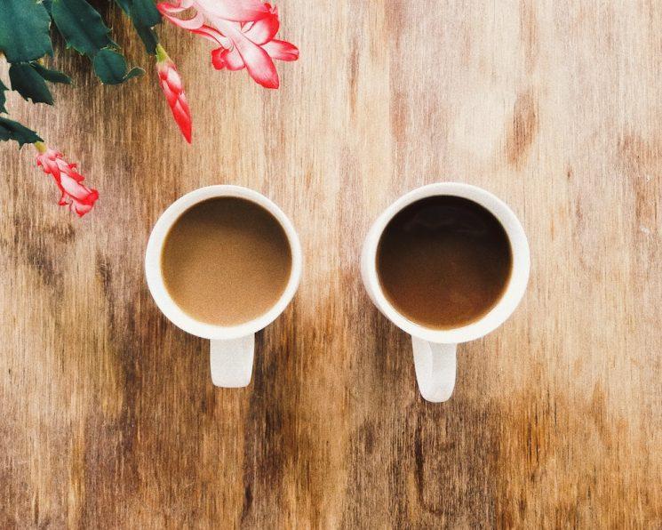 並んだコーヒー