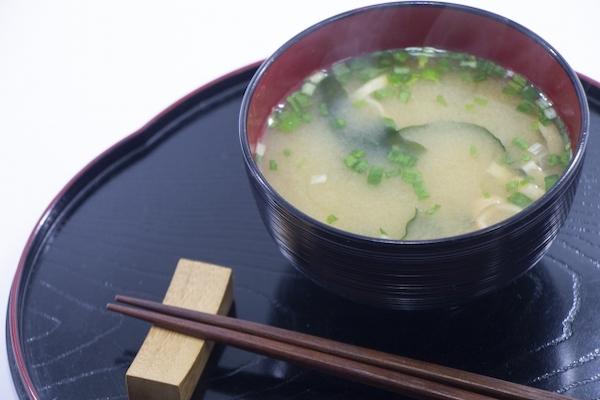 ファスティング 味噌汁